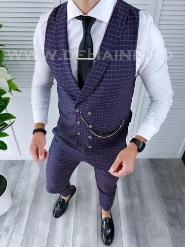 Compleu barbati Vesta + Pantaloni B4161 - Costume barbatesti -
