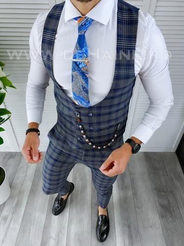 Compleu barbati Vesta + Pantaloni B4163 - Costume barbatesti -