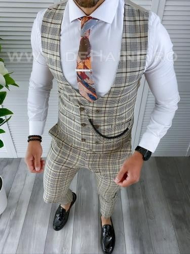 Compleu barbati Vesta + Pantaloni B4168 - Costume barbatesti -