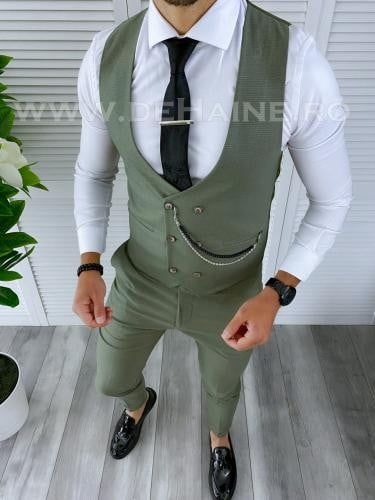 Compleu barbati Vesta + Pantaloni B4184 - Costume barbatesti -