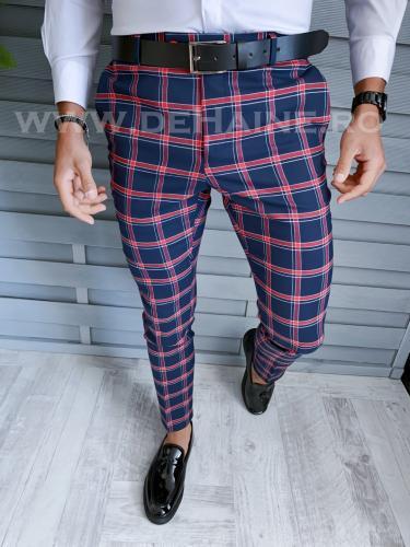 Pantaloni barbati eleganti B1828 B2-6 - Pantaloni barbati - Pantaloni eleganti