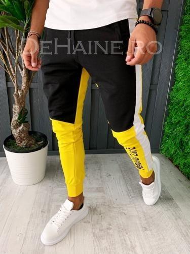Pantaloni de trening conici A5991 6-5 - Pantaloni barbati -