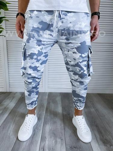 Pantaloni de trening conici B3764 112-12* - Pantaloni barbati -