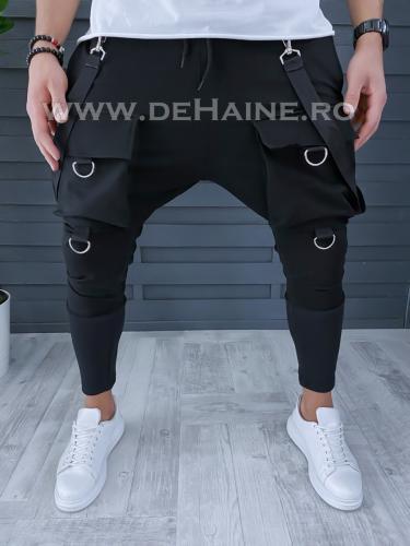 Pantaloni de trening conici stil VAGABOND A9564 80-1 - Pantaloni barbati -