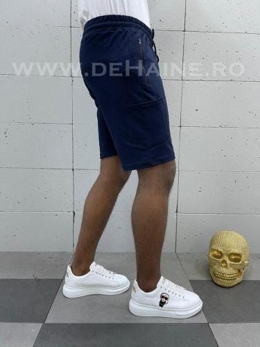Pantaloni scurti de trening bleumarin B3934 91-4 - Pantaloni barbati - Pantaloni scurti