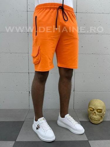 Pantaloni scurti de trening portocalii B3935 83-3 - Pantaloni barbati - Pantaloni scurti