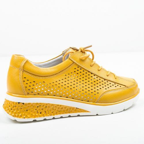 Pantofi Casual Arv Galbeni - Incaltaminte casual femei - Casual