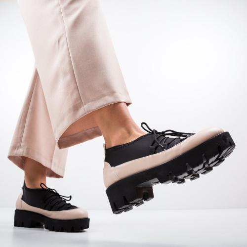 Pantofi Casual Asher Bej 2 - Incaltaminte casual femei - Casual