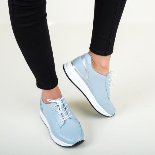 Pantofi Casual Barn Albastri - Incaltaminte casual femei - Pantofi casual