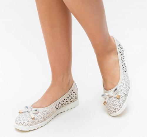 Pantofi Casual Bende Bej - Incaltaminte casual femei - Pantofi casual
