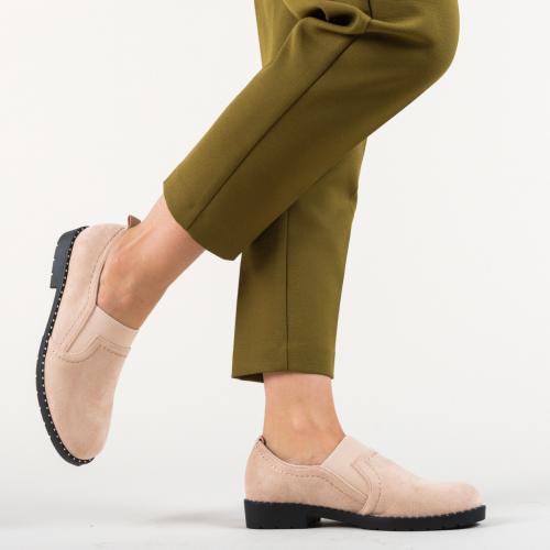 Pantofi Casual Correa Roz - Incaltaminte casual femei - Pantofi casual