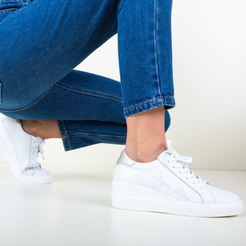 Pantofi Casual Daisie Albi - Incaltaminte casual femei - Pantofi casual
