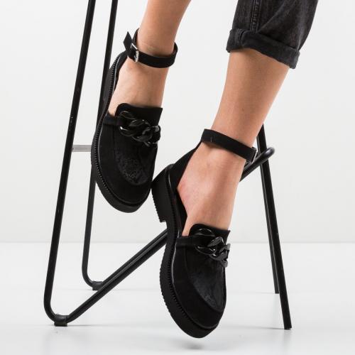 Pantofi Casual Dimic Negri 2 - Incaltaminte casual femei - Casual