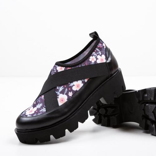 Pantofi Casual Eleri Negri 2 - Incaltaminte casual femei - Casual