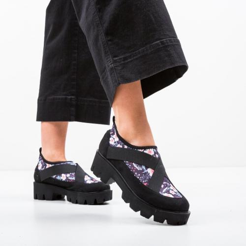 Pantofi Casual Eleri Negri - Incaltaminte casual femei - Casual