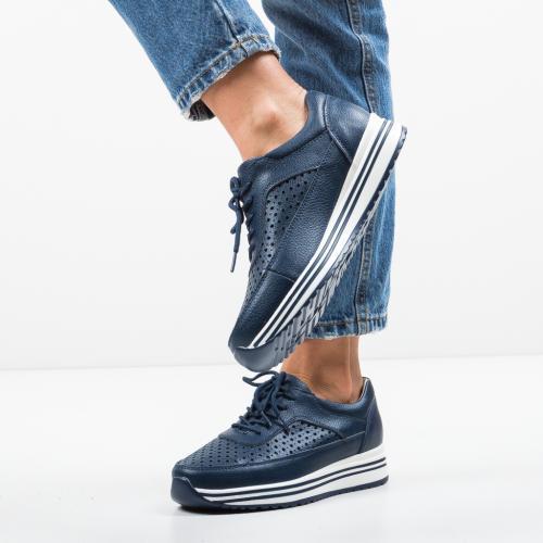 Pantofi Casual Eve Bleumarin 2 - Incaltaminte casual femei - Casual