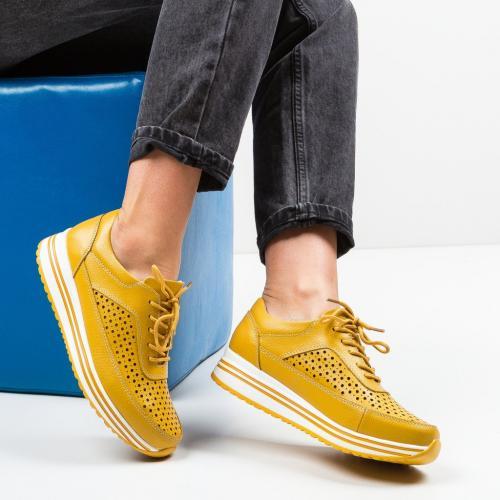 Pantofi Casual Eve Galbeni - Incaltaminte casual femei - Casual