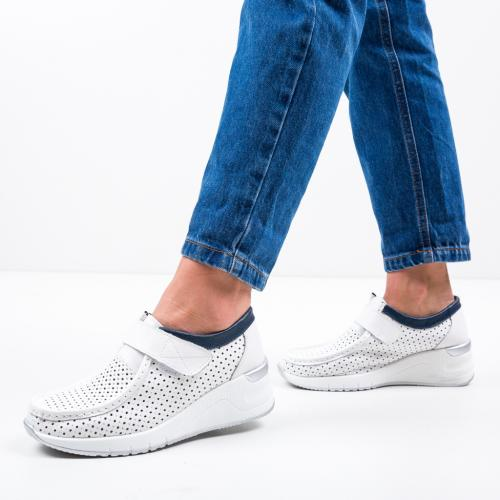 Pantofi Casual Farza Albi 2 - Incaltaminte casual femei - Casual