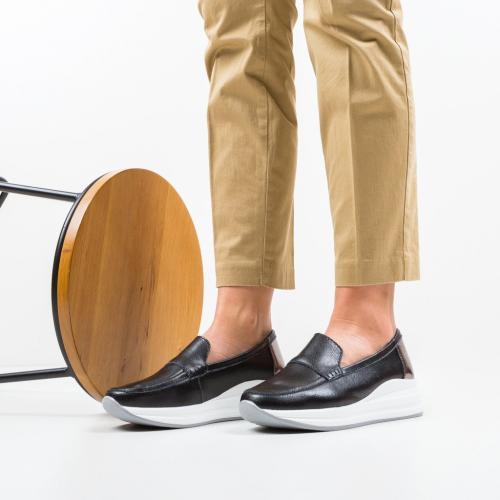 Pantofi Casual Gilles Negri - Incaltaminte casual femei - Casual