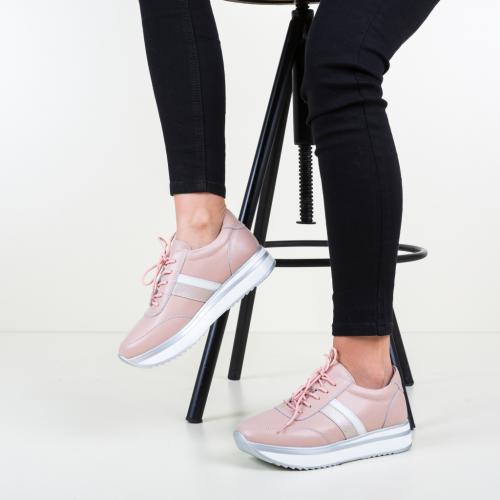Pantofi Casual Good Roz - Incaltaminte casual femei - Pantofi casual