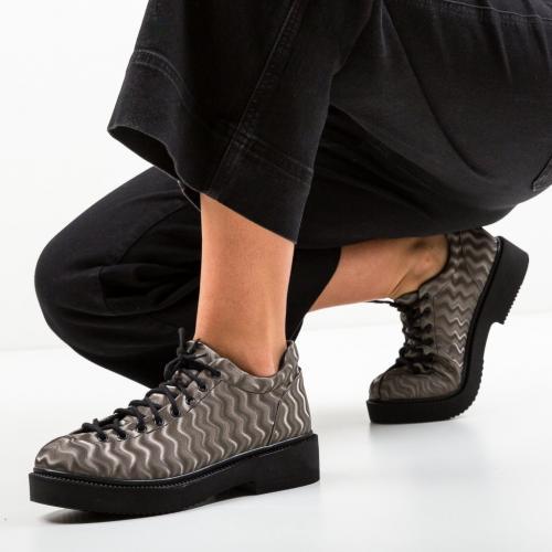 Pantofi Casual Graskol Gri - Incaltaminte casual femei - Casual