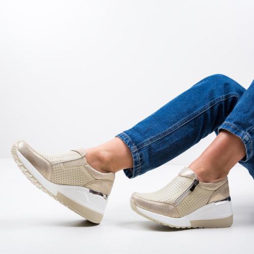 Pantofi Casual Lynsey Bej - Incaltaminte casual femei - Casual
