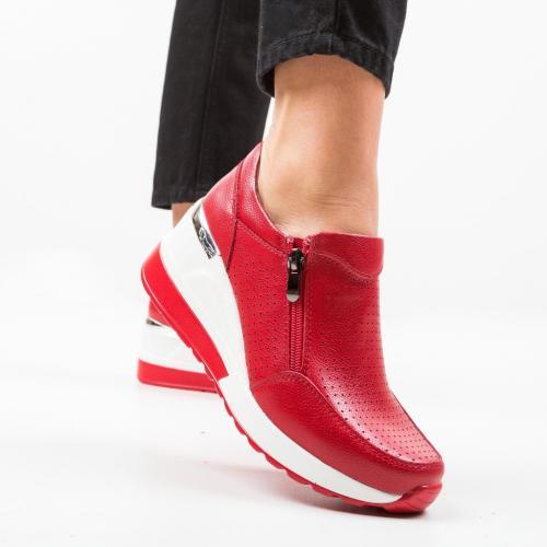 Pantofi Casual Lynsey Rosii - Incaltaminte casual femei - Casual