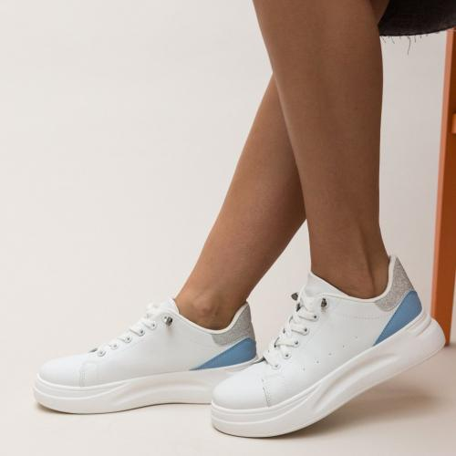 Pantofi Casual Mona Albastri - Incaltaminte casual femei - Pantofi casual