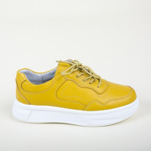 Pantofi Casual Peters Galbeni - Incaltaminte casual femei - Pantofi casual