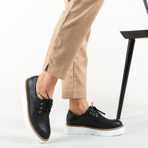 Pantofi Casual Pruto Negri - Incaltaminte casual femei - Pantofi casual
