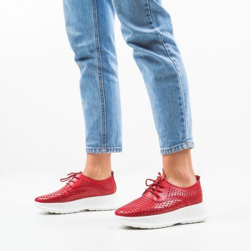 Pantofi Casual Thorp Rosii - Incaltaminte casual femei - Casual