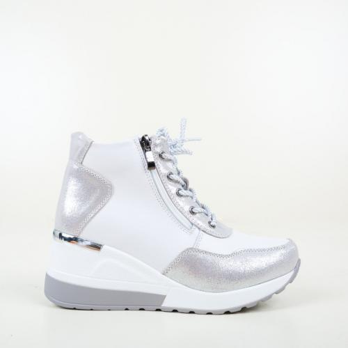 Pantofi Casual Vance Albi - Incaltaminte casual femei - Casual cu platforma