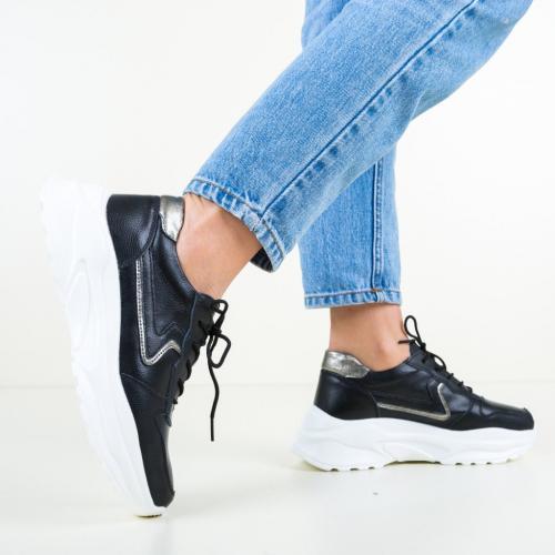 Pantofi Casual Walsh Negri - Incaltaminte casual femei - Pantofi casual