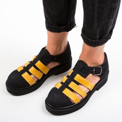 Pantofi Casual Wopka Negri - Incaltaminte casual femei - Casual