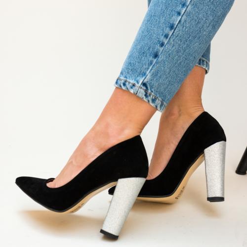 Pantofi Eldan Negri 2 - Pantofi eleganti - Pantofi cu toc gros