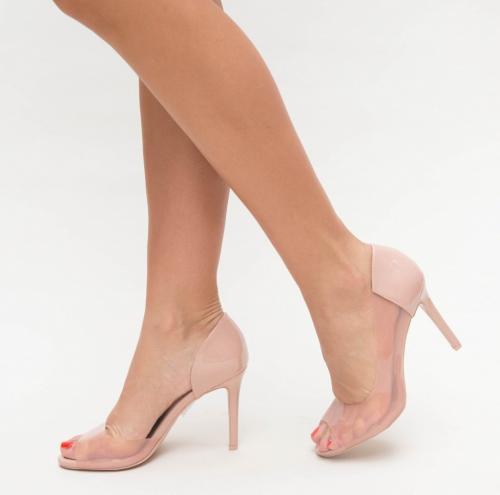 Pantofi Fabo Roz - Pantofi eleganti - Pantofi cu toc subtire