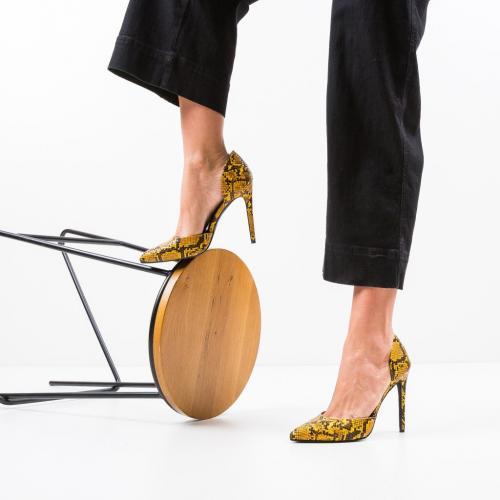 Pantofi Jake Galbeni - Pantofi eleganti -