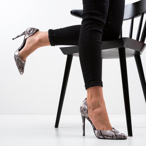 Pantofi Jake Gri - Pantofi eleganti -