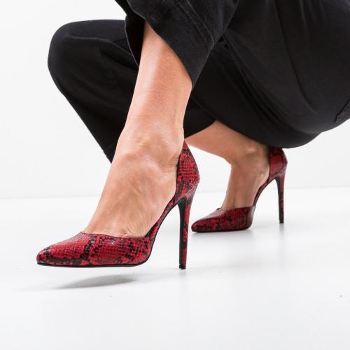 Pantofi Jake Rosii - Pantofi eleganti -