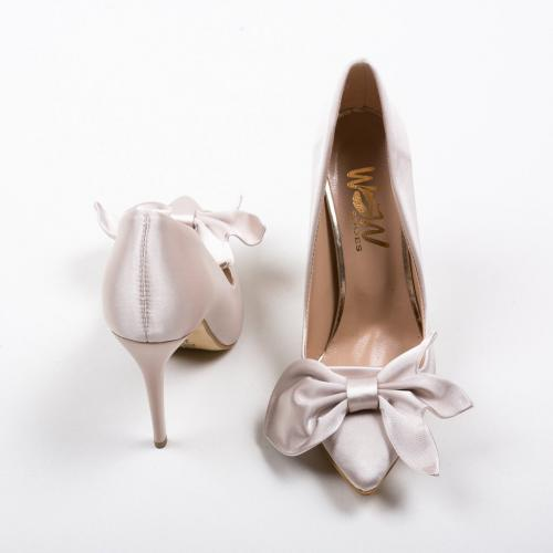 Pantofi Juanita Bej - Pantofi eleganti -