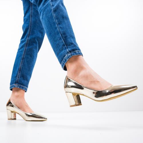 Pantofi Kelse Aurii - Pantofi eleganti -
