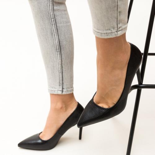 Pantofi Mirial Negri - Pantofi eleganti - Pantofi cu toc subtire
