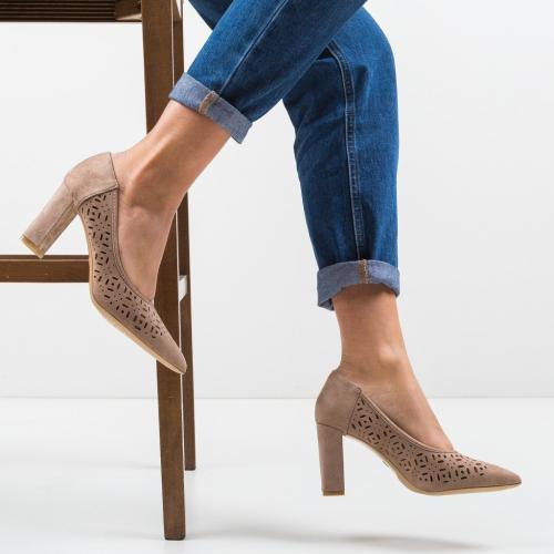 Pantofi Roc Khaki - Pantofi eleganti -