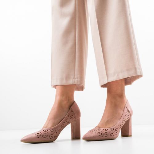 Pantofi Roc Roz - Pantofi eleganti -