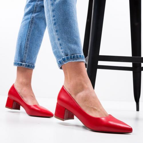 Pantofi Shana Rosii - Pantofi eleganti -