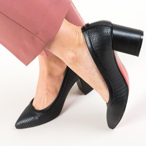 Pantofi Spic Negri - Pantofi eleganti -