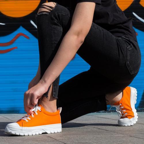 Pantofi Sport Anima Portocalii - Incaltaminte sport dama -