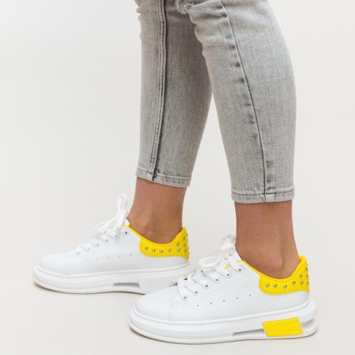 Pantofi Sport Botega Galbeni - Incaltaminte sport dama -