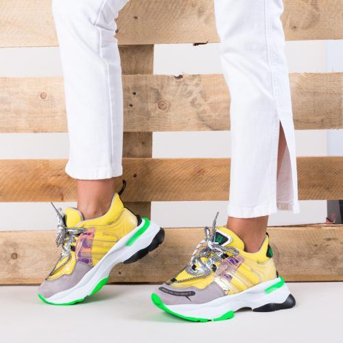 Pantofi Sport Ciaga Galbeni - Incaltaminte sport dama -