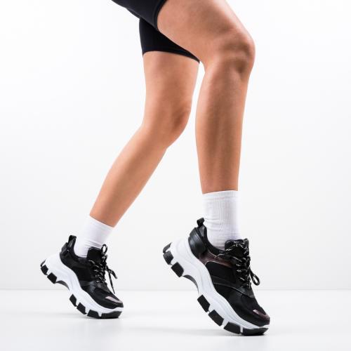 Pantofi Sport Dixon Negri - Incaltaminte sport dama -